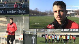 Marc Oliver Kempf & Co sind zurück auf dem VfB Clubgelände