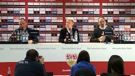 Pressekonferenz: VfB Stuttgart - 1. FC Heidenheim