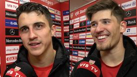 Die Interviews nach dem Heimspiel gegen den 1. FC Heidenheim