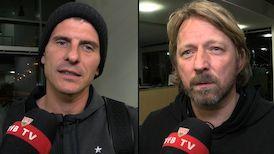 Die Interviews nach der Rückkehr vom Spiel am Millerntor