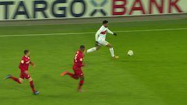 2. Halbzeit: Leverkusen - VfB Stuttgart