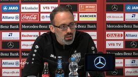Die Pressekonferenz vor dem Heimspiel gegen Aue