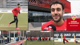 Die Vorbereitung auf Bochum mit Hamadi Al Ghaddioui