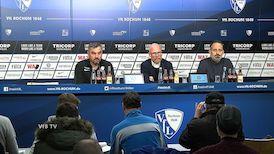 Pressekonferenz: VfL Bochum - VfB Stuttgart