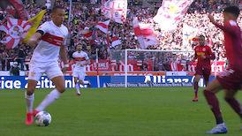 Highlights: VfB Stuttgart - Jahn Regensburg