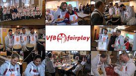 VfBfairplay Aktionstag in der Vesperkirche Stuttgart