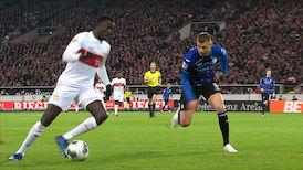 1. Halbzeit: VfB Stuttgart - Bielefeld