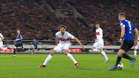2. Halbzeit: VfB Stuttgart - Bielefeld