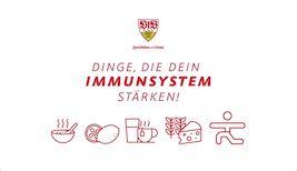 Hier kommt die 5er-Abwehrkette für Euer Immunsystem!