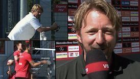 Der Rückblick auf die Trainingswoche mit Sven Mislintat