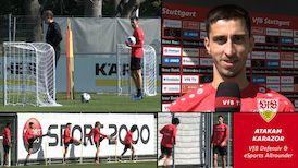VfB Defensiv und eSports Allrounder Atakan Karazor