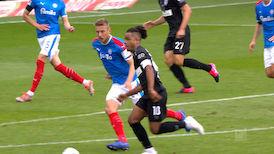 1. Halbzeit: Kieler SV Holstein - VfB Stuttgart