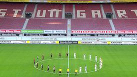 1. Halbzeit: VfB Stuttgart - Hamburger SV