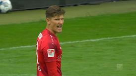 1. Halbzeit: Karlsruhe - VfB Stuttgart