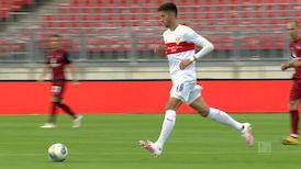 1. Halbzeit: Nürnberg - VfB Stuttgart