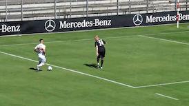Highlights: VfB - SV Sandhausen