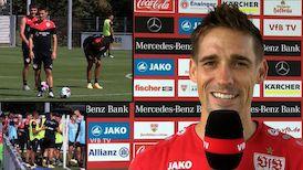 Philipp Klement vor dem Testspiel gegen Mainz