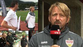 Der erste Trainingstag in Tirol mit Sven Mislintat