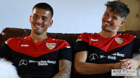 VfB KITZ VLOG by Mercedes-Benz Bank   Folge 4: Gregor Kobel & Fabian Bredlow