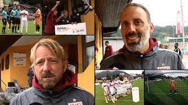 Die Interviews nach dem HeldenCup-Spiel gegen Arminia Bielefeld
