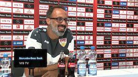 Das Videogespräch vor dem Bundesliga-Start gegen Freiburg