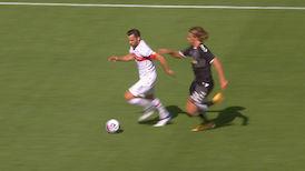 1. Halbzeit: VfB Stuttgart - SC Freiburg