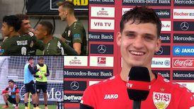 Mateo Klimowicz zwischen Mainz und Leverkusen