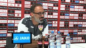 Die Video-PK vor dem Heimspiel gegen Bayer Leverkusen