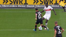2. Halbzeit: VfB Stuttgart - Leverkusen