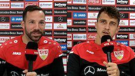 Die Interviews nach dem Hertha-Spiel