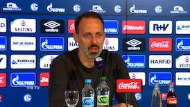 Pressekonferenz: FC Schalke 04 - VfB Stuttgart