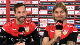 Die Interviews nach dem Freitagabendspiel auf Schalke