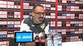 Die Video-PK vor dem Heimspiel gegen Eintracht Frankfurt