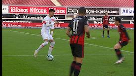 2. Halbzeit: VfB Stuttgart - Eintracht Frankfurt