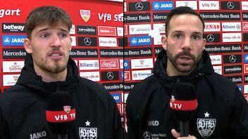 Die Interviews nach dem Heimspiel gegen Frankfurt
