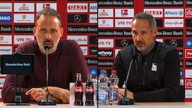 Pressekonferenzen: VfB Stuttgart - Eintracht Frankfurt