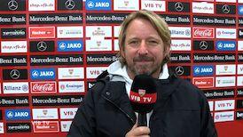 Sven Mislintat nach dem Spiel gegen Frankfurt