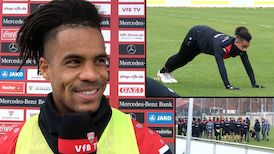 Daniel Didavi zum Start in die Trainingswoche