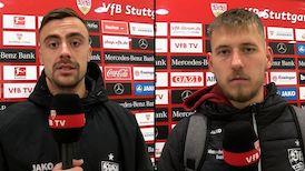 Die Interviews nach dem Bayern-Spiel