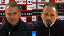 Pressekonferenzen: VfB Stuttgart - FC Bayern München