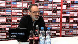 Die virtuelle Presserunde vor dem Spiel bei Borussia Dortmund