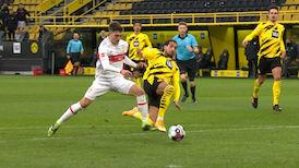 1. Halbzeit: Dortmund - VfB Stuttgart