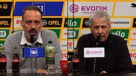 Pressekonferenzen: Borussia Dortmund - VfB Stuttgart