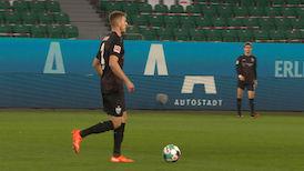 1. Halbzeit: VfL Wolfsburg - VfB Stuttgart
