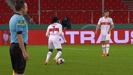 2. Halbzeit: VfB Stuttgart - SC Freiburg