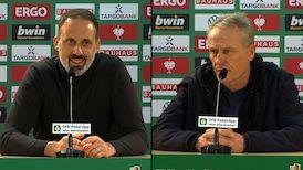 Pressekonferenzen: VfB Stuttgart - SC Freiburg
