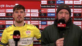 Die Interviews nach dem Heimspiel gegen RB Leipzig