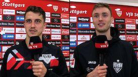 Die Interviews nach dem Heimspiel gegen Mainz