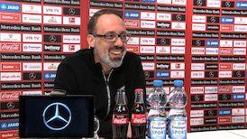Die Video-PK vor dem Spiel in Leverkusen