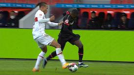 1. Halbzeit: Bayer 04 Leverkusen - VfB Stuttgart